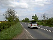 SE4613 : A638 Doncaster Road near Upton by Steve  Fareham