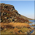 SH6529 : North side of Llyn Du by Rudi Winter