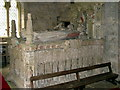 NU0625 : Tomb, St Peter's Parish Church, Chillingham by Andrew Curtis