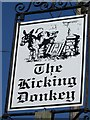 ST8351 : Sign for the Kicking Donkey by Maigheach-gheal