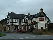 SK3750 : The White Hart, Heage by JThomas