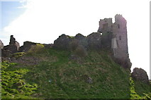 NS2515 : Dunure Castle by Iain Marshall