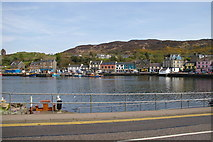 NR8668 : Tarbert township & harbour by Iain Marshall
