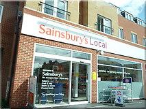 SZ0894 : Bournemouth : Winton - Sainsbury's Local by Lewis Clarke