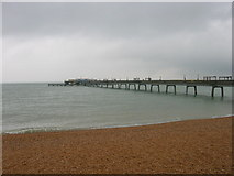 TR3752 : Deal Beach and Pier by JThomas