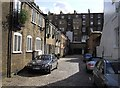 TQ2678 : Mews Houses Onslow Mews West by PAUL FARMER