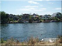 TQ1667 : Thames Ditton Marina by Paul Gillett