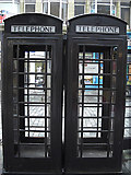 SE0925 : Black K6 telephone boxes by michael ely