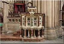 TQ2479 : St John the Baptist Church, Holland Road, London W14 - Right ambo by John Salmon