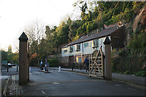 SK5639 : Gates on Peveril Drive by David Lally