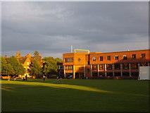 TM1645 : Ipswich School library by Ben Eagle