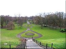 SJ8298 : Peel Park by the University of Salford by Andrew Tatlow