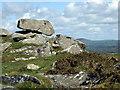 SN0936 : Balanced rock at Carnedd Meibion Owen by ceridwen