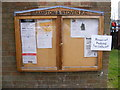 TM4382 : Brampton & Stoven Village Notice Board by Adrian Cable