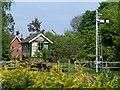 SU3430 : Horsebridge signal box by David Martin