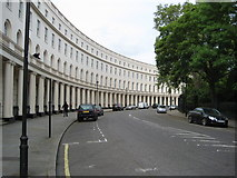 TQ2882 : Park Crescent by Philip Halling
