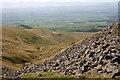 NY7130 : Rocky slopes by Helen Wilkinson