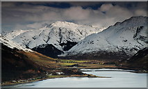NG9420 : Loch Duich and Morvich. by djmacpherson