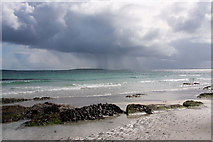 HY4729 : Ossin beach, Egilsay by Bob Jones