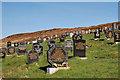NB3715 : Gravir Cemetery by Stephen Branley