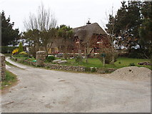 S9705 : Thatched house near Millroad by David Hawgood