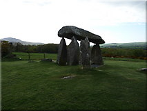 SN0937 : Pentre Ifan burial chamber by Jeremy Bolwell
