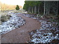 NH5335 : Mountain bike trail, Rivoulich by John MacDonald
