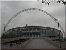 TQ1985 : Wembley Stadium by Robin Sones
