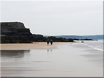 SS2006 : Summerleaze beach, Bude, low tide, looking south by Tom Jolliffe