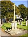 SD5376 : Church of St James, Burton, War Memorial by Alexander P Kapp
