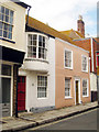 TQ8209 : 88 & 89 High Street, Hastings by Oast House Archive