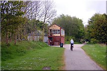 SK1461 : Hartington Signal Box by Trevor Harris
