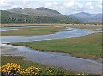 SH5838 : Glaslyn Estuary by Eirian Evans