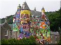 NS2156 : Kelburn Castle Graffiti Project by Chris Townsend