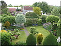 ST8359 : Canal-side garden, The Locks B&B, Bradford-on-Avon by Rob Purvis