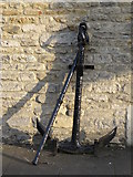 TL1998 : Customs House Anchor, Peterborough by Michael Trolove