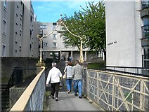 NS3421 : Blackfriars Walk, Ayr by Mary and Angus Hogg