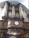 TQ3379 : Organ in St Mary's church, Bermondsey by Stephen Craven