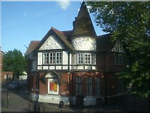 TQ2284 : Willesden Green Old Library, High Road NW10 by Robin Sones