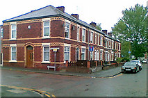 SJ8889 : Terraced houses, Hardcastle Street, Edgeley by Geoff Royle