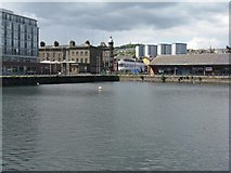 NO4030 : Victoria Dock, Dundee by M J Richardson