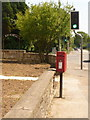 SY9694 : Beacon Hill: postbox № BH16 27, Blandford Road North by Chris Downer