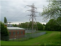 NS5161 : Electricity sub-station by Barrhead Road by Stephen Sweeney