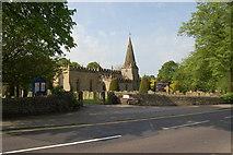SK2572 : Baslow, St Anne's Parish Church by SMJ