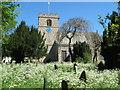 NZ2422 : St Michael's Church and churchyard, Heighington by peter robinson