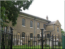 TQ2976 : North side of St Paul's, Clapham by Stephen Craven