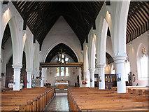 TQ2976 : Interior of Christ Church, Clapham by Stephen Craven