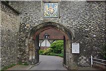 SU4829 : Priory Gate, Winchester by Stephen McKay
