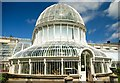 J3372 : The Palm House dome, Belfast by Albert Bridge
