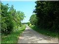 TA1448 : Minor Road Towards Seaton by JThomas